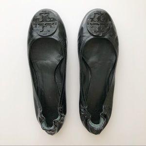 Tory Burch Patent Leather Reva Flats • 8